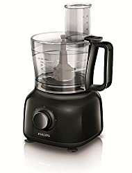 (CERTIFIED REFURBISHED) Philips Daily Collection HR7629/90 650-Watt Mini Food Processor (Black)
