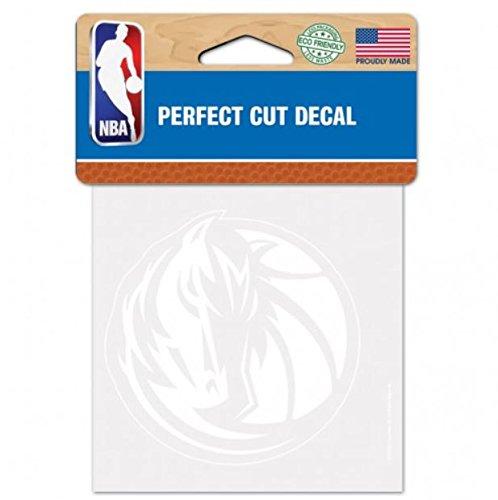 Wincraft Snack-Schale NBA Dallas Mavericks Logo 10,2x 10,2cm Zoll Outdoor Weiß Aufkleber (Auto-zubehör Dallas)