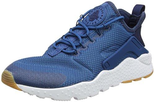 outlet store 35a49 e1ceb Nike Wmns Air Huarache Run Ultra, Entrenadores para Mujer, Azul (Industrial  Blue Midnight Navy White), 40 EU