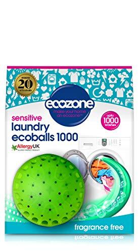 Ecozone NEB1 Ecoballs, 1000 Waschgänge, verbesserte Rezeptur mit erhöhten Leistungseigenschaften