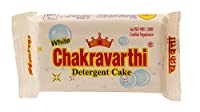 White Chakravarthi Detergent cake,175g,pack of 10