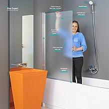 Amazon.it: vetro per vasca da bagno