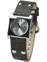 Bench BC0056BR - Reloj de mujer de cuarzo, correa de piel color marrón
