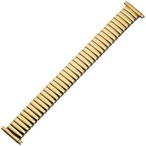 MARBURGER Uhrenarmband 16mm Edelstahl Gold - Uhrband 82907440020