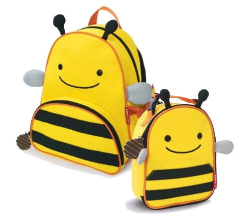 Price comparison product image Skip Hop Children's Zoo Back Pack & Lunchie Bag Combo - Bumble Bee