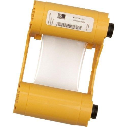 Zebra True Colours 800033-848 Ribbon Cartridge - YMCKOK - Dye Sublimation Thermal Transfer - 165 Card by Zebra Technologies