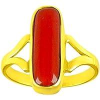 DIVYA Shakti 4,25–4,50Karat Ring Koralle rot (moonga/Munga Stone panchadhatu Ring) 100% Original Edelstein preisvergleich bei billige-tabletten.eu