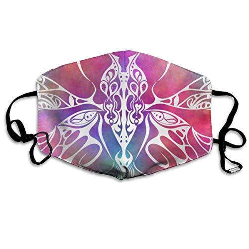 Masken, Masken für Erwachsene, Face Mask Reusable, Warm Windproof Mouth Mask, Tribal Plasma Butterfly Reusable Anti Dust Face Mouth Cover Mask Protective Breath Healthy ()