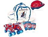 The Amazing Spider-man Rollschuhe Set Quads Skates Protective Helm/polster & Bag
