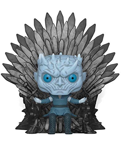 Funko- Pop Deluxe: Game of S10: Night King Sitting on Throne Figura Coleccionable, (37794)