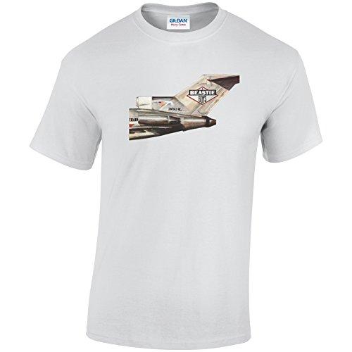 Beastie Boys Flugzeug inspiriert T-Shirt Weiß - Weiß