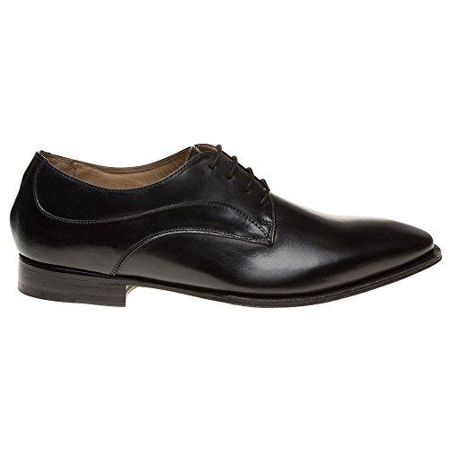 Aquascutum Plain Toe Derby Homme Chaussures Noir Noir