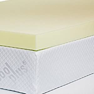 Memory Foam Mattress Topper with Cover from Orderexit