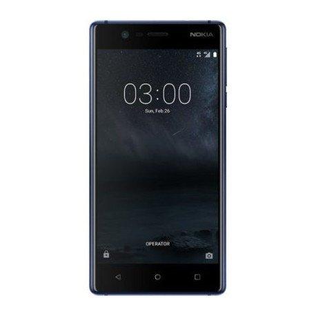 Nokia 3 Smartphone, 16 GB, Dual sim, Nero [Italia]