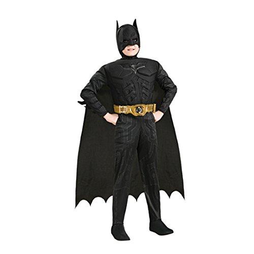 Kinderkostüm Batman - Helden Kostüm Kinder Heldenkostüm Batmankostüm Fledermaus Batmananzug Kinderbatman ()