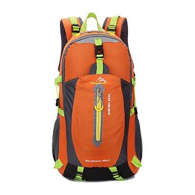 40 l Rucksack Camping&Wandern Freizeit Sport Reisen wasserdicht tragbar multifunktionale shockproof Orange