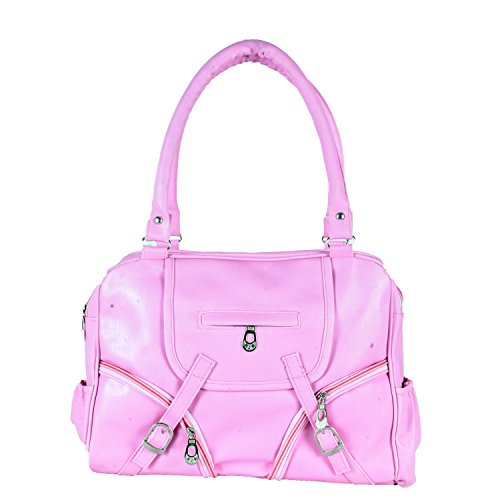 HOME ELITE DESIGNER LADIES HAND BAG , Pink- RG-HB-05