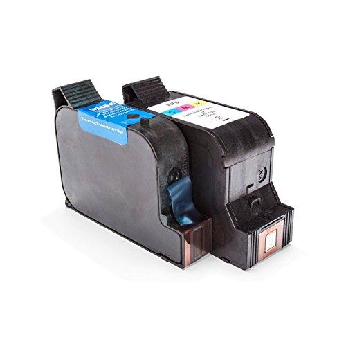 Inkadoo Tinte passend für HP PSC 750 kompatibel zu HP 15, 78 SA310AE - 2x Premium Drucker-Patrone Alternativ - Schwarz, Cyan, Magenta, Gelb - 1 x 44 & 1 x 39 ml