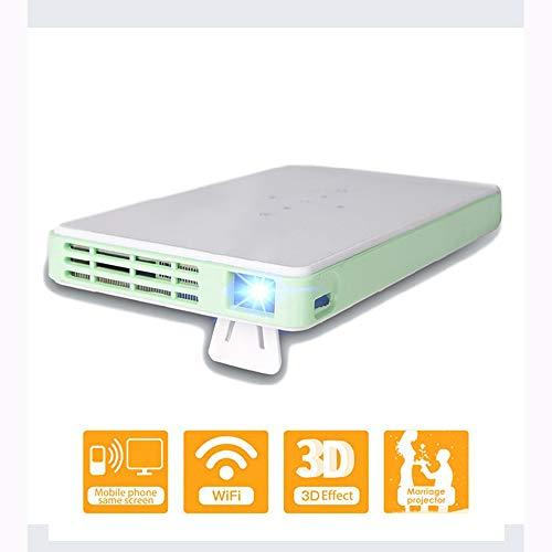 Link Co Mini tragbare Projektoren Drahtlose Bluetooth-Verbindung Batterie 2000mAh Automatische elektronische Trapezkorrektur 72 Zoll weiches Tuch (Rv-bluetooth-stereo -)