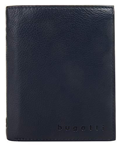 Bugatti-Geldbeutel mit Semper-Kartenfach, 12 cm, Blau 2160658 -
