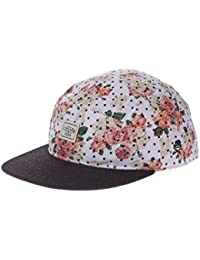 Cayler And Sons - Casquette 5 Panel Homme Paris Throwback 5 Panel Cap - Floral Leather / Black Wool