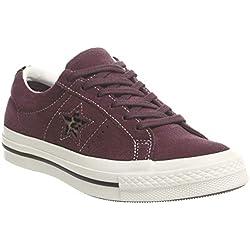 Converse - Zapatillas de Fitness Unisex para Adulto, Color Rojo, Talla 4 UK