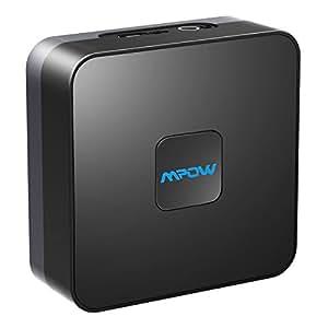 Mpow Bluetooth 4.1 Empfänger audio adapter für stereoanlage Heim HiFi Auto Lautsprecher Musikstreaming-Soundsystem mit 3.5mm Aux Cinch Kabel