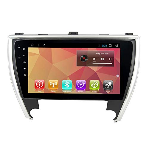 Android 8.0 Octa Core Car Radio GPS Navi for Toyota Camry 2015 2016 2017 Stereo Car Head Unit Device Multimedia Player Video BT WiFi Navigation Map (Android 8.0 T8 32G Camry 17)
