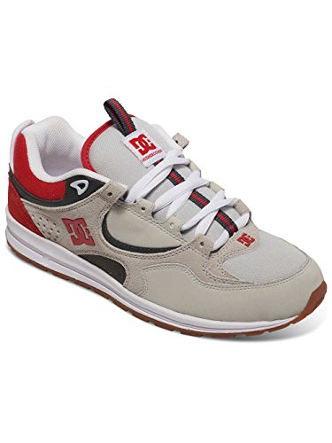 DC Shoes Kalis Lite - Chaussures pour homme ADYS100291 Grey/Red/White