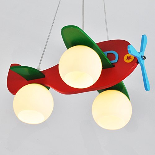 Kinderzimmerlampe modernen minimalistischen Schlafzimmer den kreativen Raum Kronleuchter Lampe Kronleuchter Kinderflugzeuge