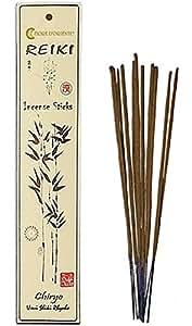 Fiore d 'oriente chiryo Reiki Lot de bâtonnets d'encens, en bambou, multicolore