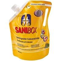 Sanibox Detergente Concentrato Elimina Odori Profumato Limone 1 Litro