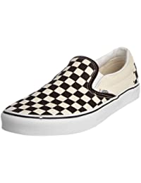 Vans Unisex Adults' Classic Slip-On Checkerboard Trainers