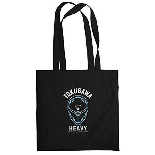 Texlab–Tokugawa Heavy Industry–sacchetto di stoffa Nero