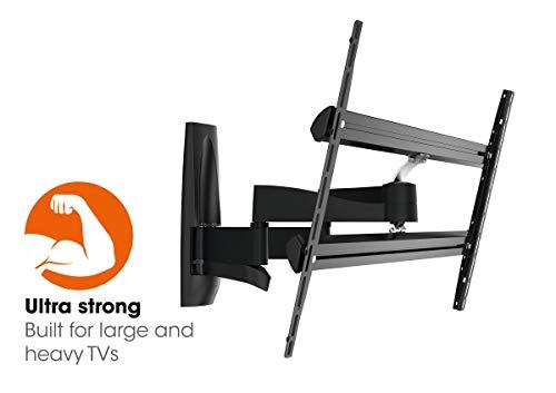VOGEL\'S WALL 3450 - Ausziehbare TV-Wandhalterung für extra große (55-100 Zoll) und schwere (max. 55 kg) Fernseher, Fernsehhalterung, TV Arm, Schwenkbar & Neigbar, VESA max. 800 x 450 mm