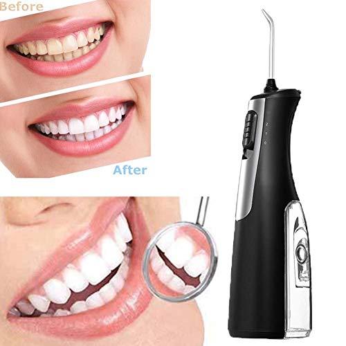 DBSCD Elektrische Wasser Flosser für Zähne Schnurlose Munddusche Floss Wasserstrahl IPX7 wasserdicht 2 Modi für Reisen und Heimgebrauch für Zähne, Zahnspangen, Brücken