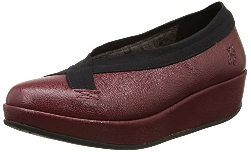 FLY London Bobi, Ballerines femme Rouge (Mousse Cordoba Red)