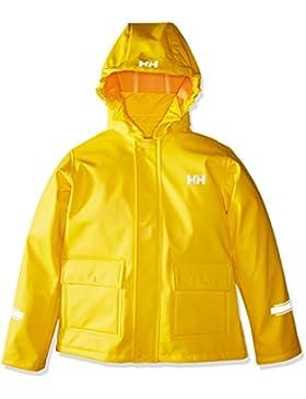 Helly Hansen K Juell PU Jacket Chaqueta Deportiva, Niños, Amarillo (Amarilla), One Size (Tamaño del Fabricante:6)