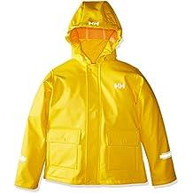 Helly Hansen K Juell Pu Jacket Chaqueta deportiva, Niños, Amarillo (Amarilla), One Size (Tamaño del fabricante:7)