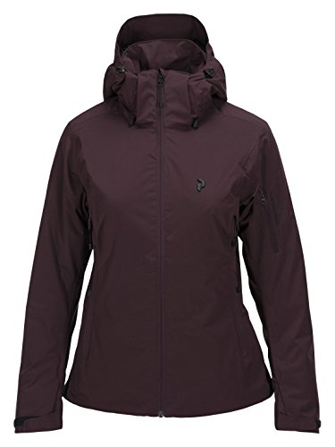 Peak Performance W Anima Ski Jacket Mahogany - XS