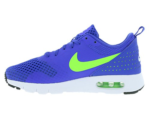 Nike Racer Blue / Electric Green-Wht, Chaussures de Sport Garçon Bleu - Azul (Racer Blue / Electric Green-Wht)