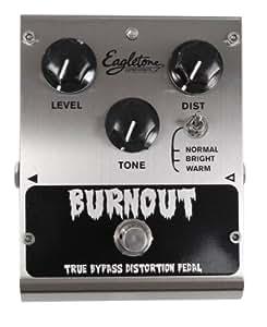 EAGLETONE BURN OUT Ampli et effet Effet guitare électrique Distortion - fuzz - overdrive...