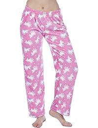 Ladies Fleece Pyjama Pajama Bottoms Lounge Pants PJ Nightwear 83c33d4d2