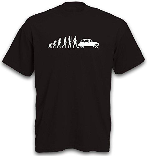 T-Shirt Evolution Ente 2CV Youngtimer Oldtimer Auto Gr. L