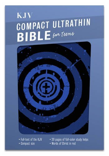 KJV Compact Ultrathin Bible for Teens, Blue Vortex LeatherTouch by B&H Kids Editorial Staff (2015-07-01)