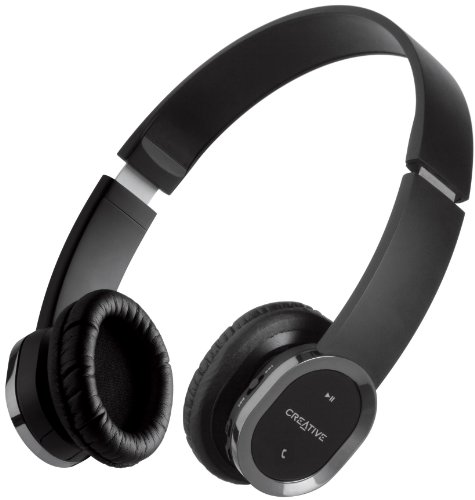 Creative WP-450 Bluetooth Wireless Headphones with Built-in Microphone and  Foldable Design for fb1424b75c1b