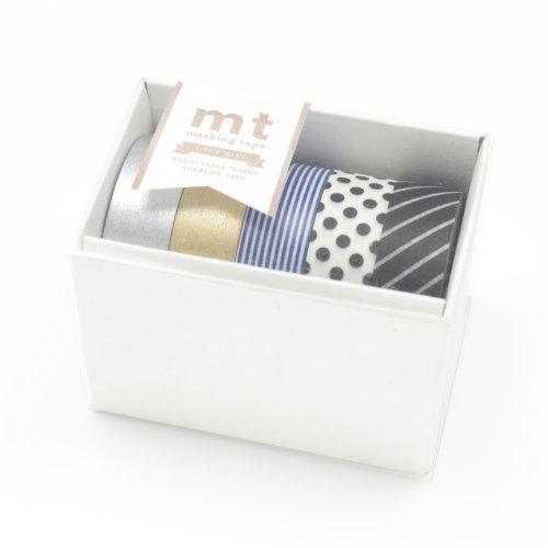 MT Kamoi Kakoshi Abdeckband Geschenk-Box, 15mm breite, 10mm Rolle in 5Teile (mt05g004) (Krepp-perlen)