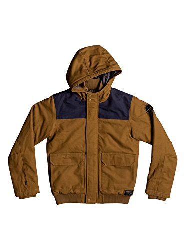 Quiksilver Brooks Island DWR - Water-Repellent Hooded Bomber Jacket - Jungen