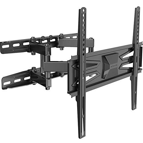 TV-Wandhalterung schwenkbar, ausziehbar, Full-Motion-TV-Wandhalterung für die meisten 32-60-Zoll-Flat- und Curved-TVs, Fassungsvermögen bis 30 kg, VESA 400 x 400 mm