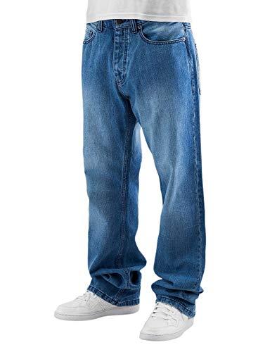Bleach Wash Denim (Dickies Herren Pensacola Loose Fit Jeans, Blau (Bleach Wash BLE), ((Herstellergröße:48/34))